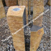 Natural split slate stone, slate to paving for wall, column or floor