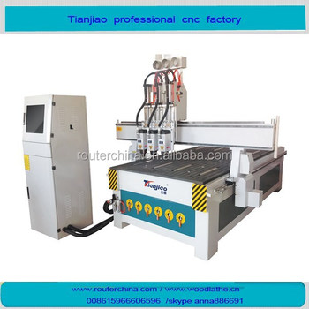 CE !!! linear atc intelligent multi-function 3D Wood cnc router Machine