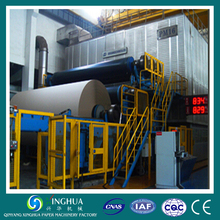 whole production line for 3200 corrugated cardboard paper making machine