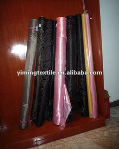 polyester taffeta fabric,interlining fabric,210t polyester oxford fabric with pu coating