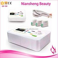 2016 most effevtive facial firming machine HIFU machine with 3 treatment tips guarnateed