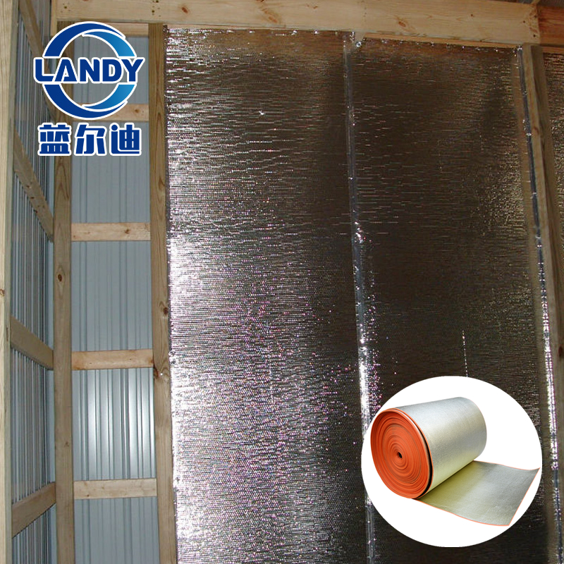 xpe foam thin insulation for roof and solid wall,thin-r insulation for dry lining walls