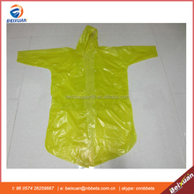 100% Waterproof Raincoat,Waterproof PE Raincoat,Disposable Raincoat