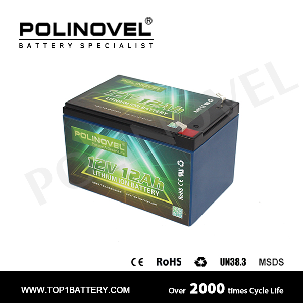 12v 12ah li-ion rechargeable battery