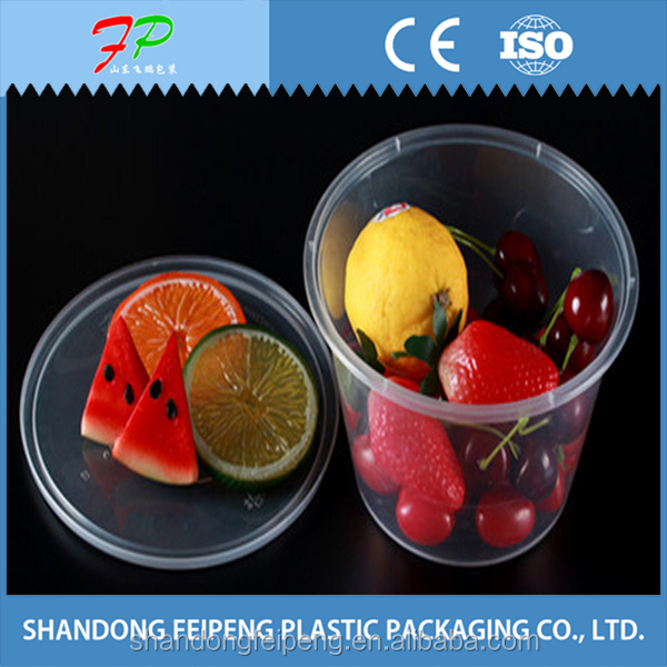 Food Grade Plastic Foodl Packing Box