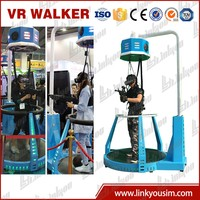 Virtuix Omnie vr walker shooting games