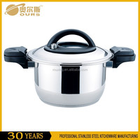 Hot selling stainless steel commercial low pressure cooker