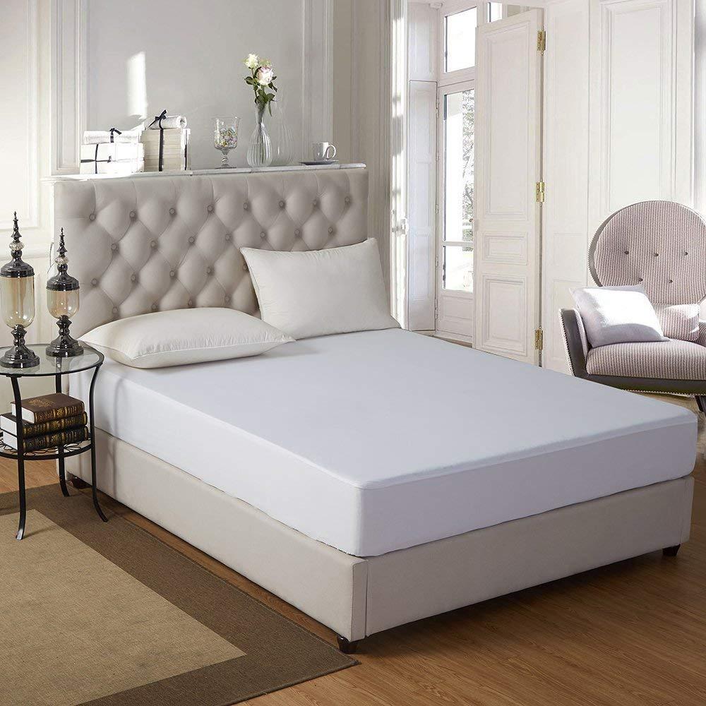 Durable Anti Bed Bugs Luxury King Size Hypoallergenic Waterproof Mattress Protector - Jozy Mattress   Jozy.net