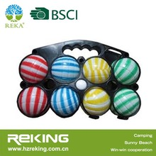 french ball Bocce ball Petanque, Boules, Boccia set,Outdoor sports set promotion