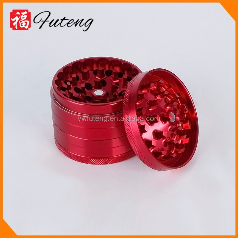 2.5 Hand Manual Grinder Aluminum Herbal Grinder Wholesale Herb Grinder