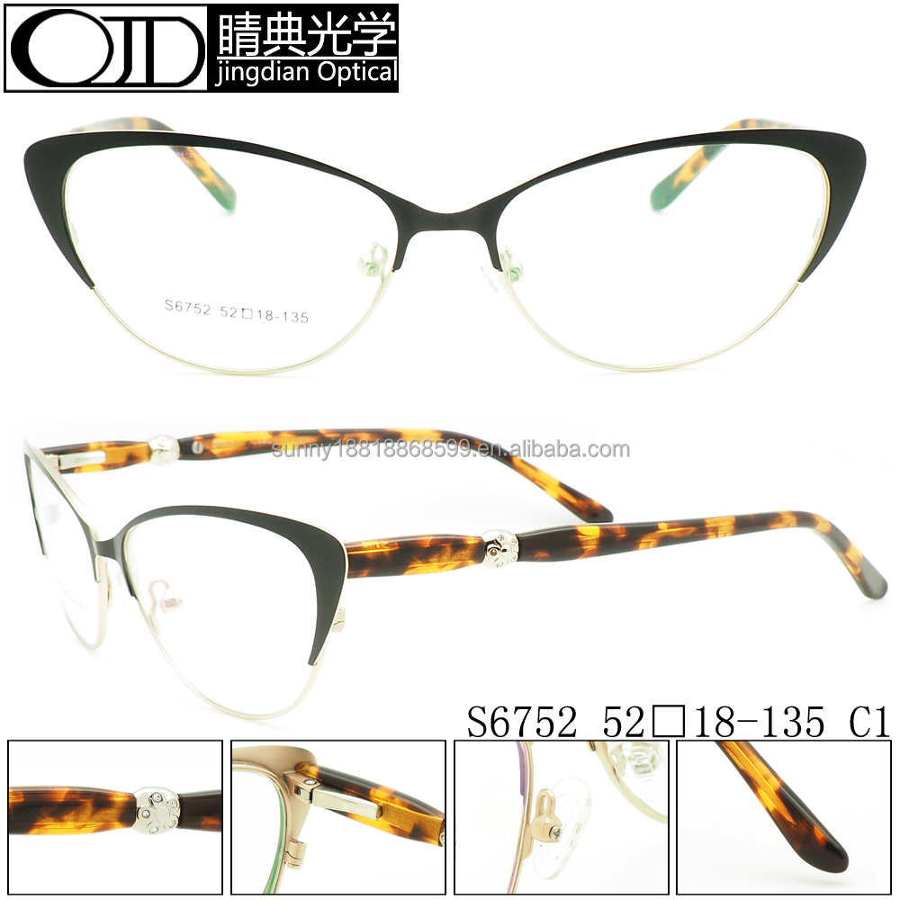 2016 Ladys Cat Eye Optical Glasses Manufacturers In China ...