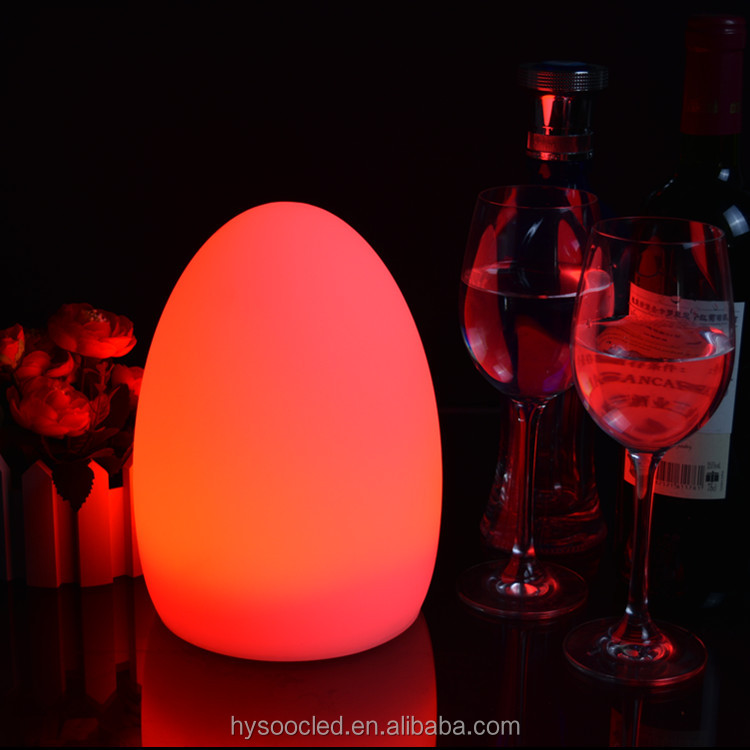 Water proof led table light portable power source led table lamp