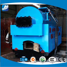 Horizontal type water and fire tube half-automatically coal fired boiler for power plants