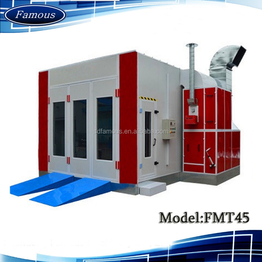 CE certified price car paint booth/powder coating oven racks/powder spray booth