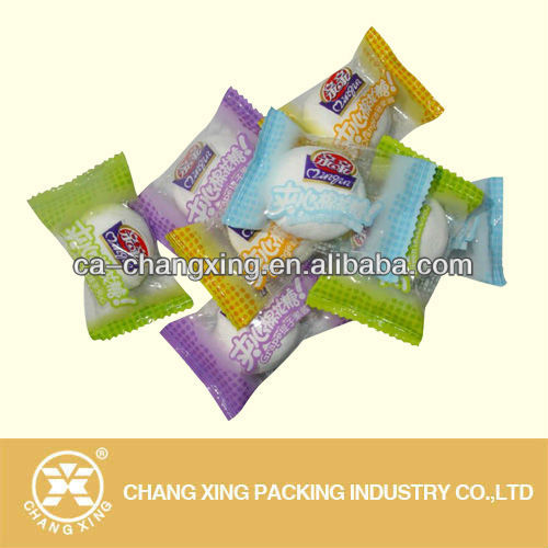 printed film packaging for marshmallow packaging