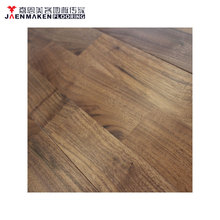15mm CD grade black walnut kitchen solid wood flooring