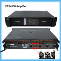 FP14000q 5000watt power amplificator audio