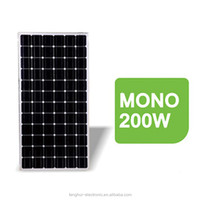 monocrystalline silicon solar cells 200w,cheap solar panels china,solar panel manufacturer for Africa market