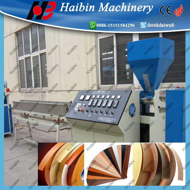 PVC edge band making machine with turnkey solution