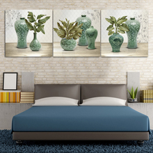 Flower Vase Modern Abstract Decration Dafen Oil Painting For Bedroom