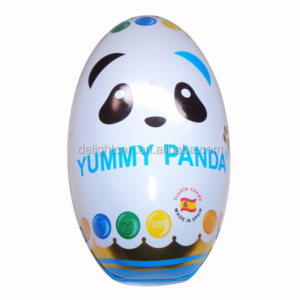 Cute Easter Egg Two-piece Packaging Tin Box