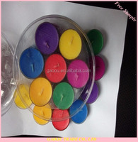 colorful Tea Light romantic candle & paraffin wax candle for decoration