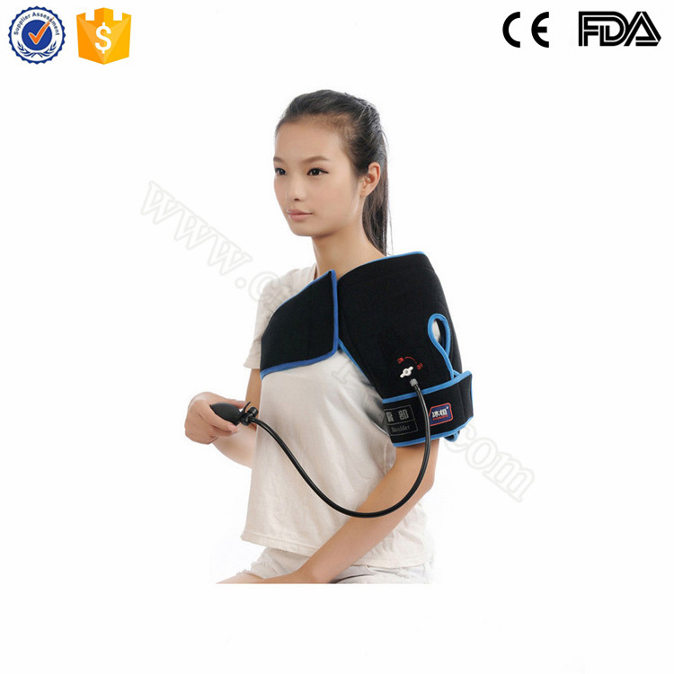 Hot and Cold Compress Air Pump Shoulder Pad for Pain Relieving
