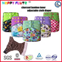 Happy flute baby shops sleepy baby cloth diapers adjustable nappy manufacture diapers