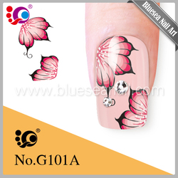 Alibaba whole sales China manufacturer beautiful flower popular nail product