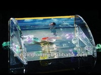 Manufacturer supplies exquisite acrylic fish tank aquarium