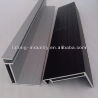 aluminium frames of photovoltaic modules