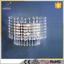 Modern Crystal Hotel Indoor Wall Light Home Decorative Wall Bracket Light