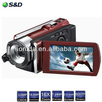 "HDV-614p 2.7"" LCD Display 1080P shooting 3.0 Sensor of cameras cheap"