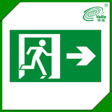 UL Listed ABS Plastic Runningman Emergency Double Sided LED Exit Sign
