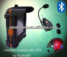 USD 19/set ONLY Helmet Headset Connect Moto GPS TTS Function Scooter Helmet Bluetooth Handsfree