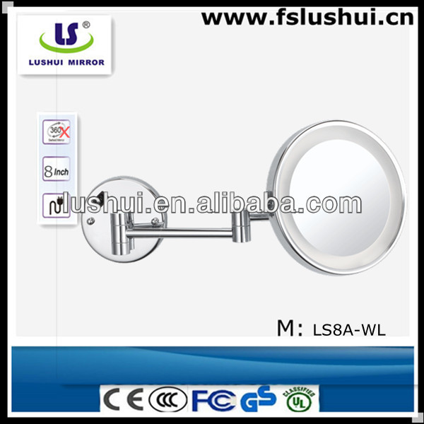 extendable wall light magnifying venetian glass mirrors