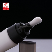2017 korea hot fibre brush cosmetic tube for cosmetic cleanser face wash product