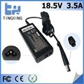 China factory cheap Laptop Adapter Tingxing brand for hp 18.5V3.5A65W Notebook charger 7.4*5.0MM