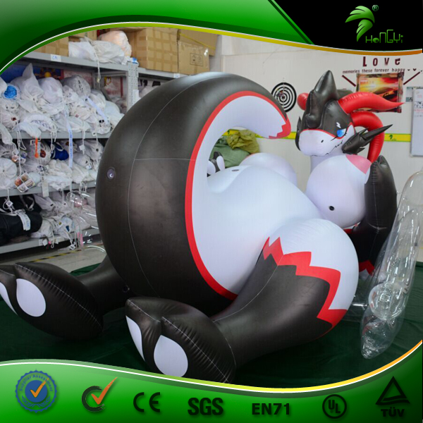 Hongyi Inflatable Dragon Inflatable Big Boobs Animal Sexy Dragon With Wings Japanese XXX Man Doll