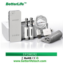 2014 best sales product 2200mah power bank ecigarette led battery indicator variable voltage ecigarette battery