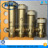 ISO approved forged brass flush ball valve