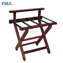 used hotel antique folding solid wood luggage rack
