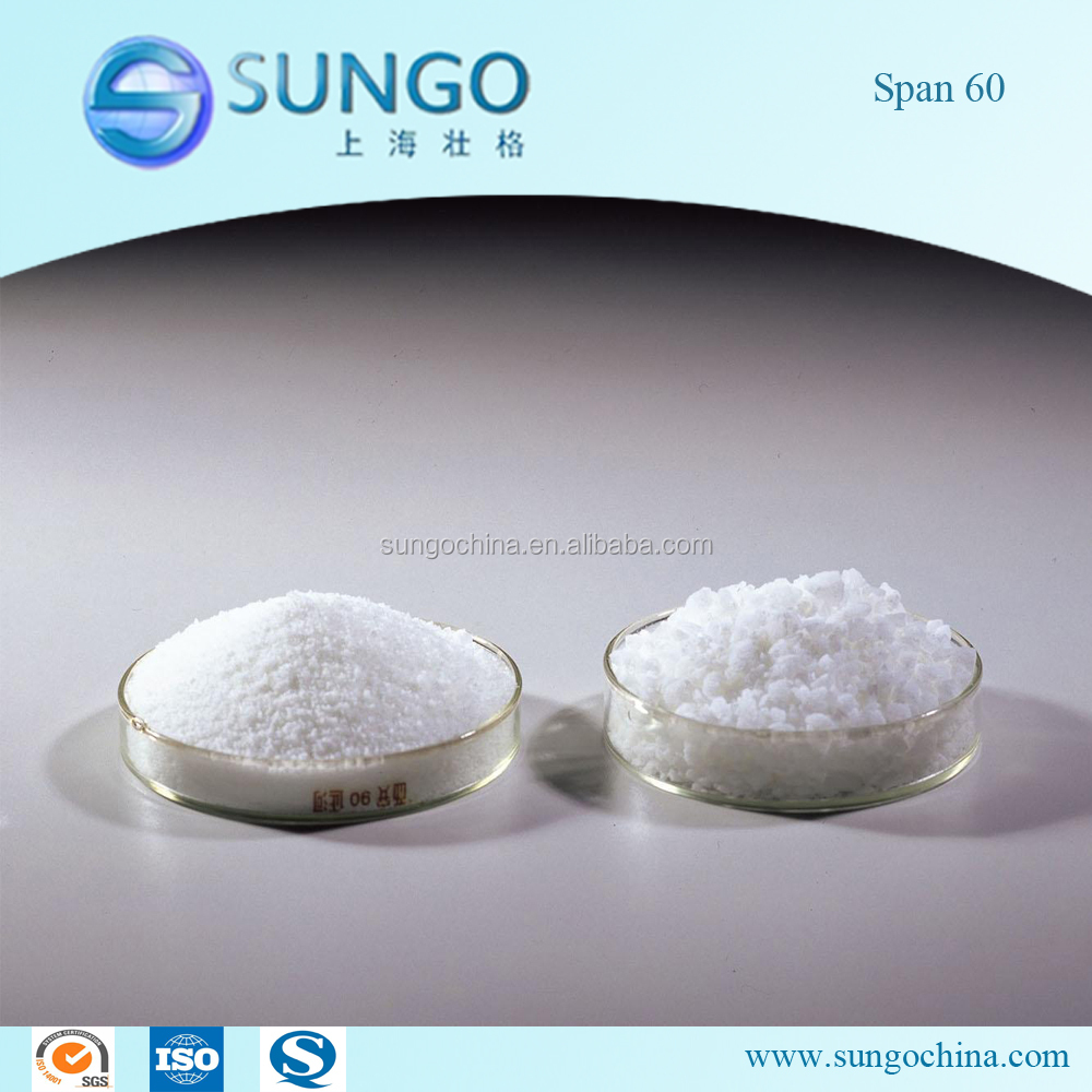 Factory Supply Emulsifier Span 60, Sorbitan Monostearate 60
