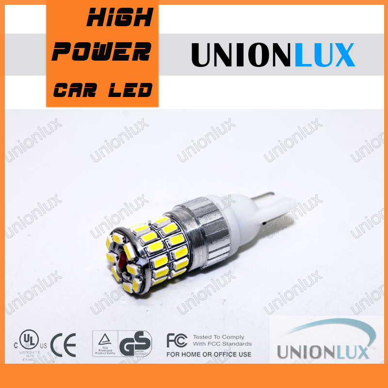 cree high power led bulbs 7.2W T10 W5W LED bulb, LED single light,door lamp 3014 T10 led UX-YT36-T10-3014