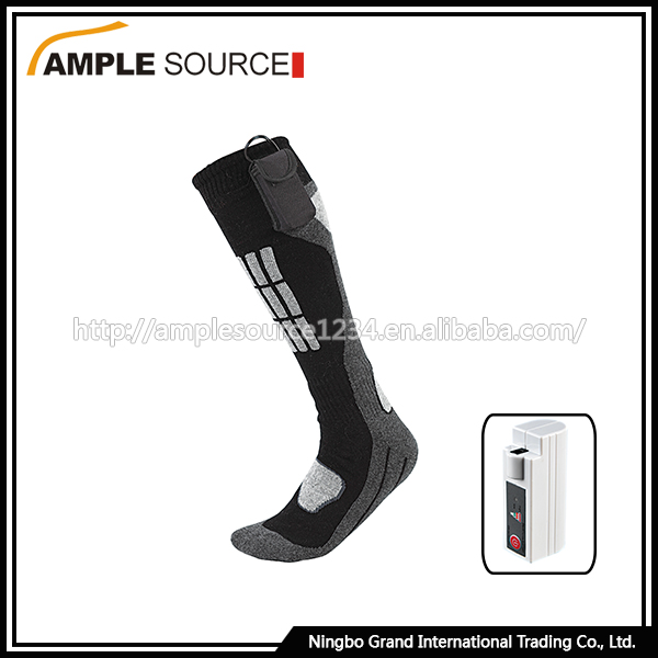 Wholesale products high quality men socks/hand knitted heated socks