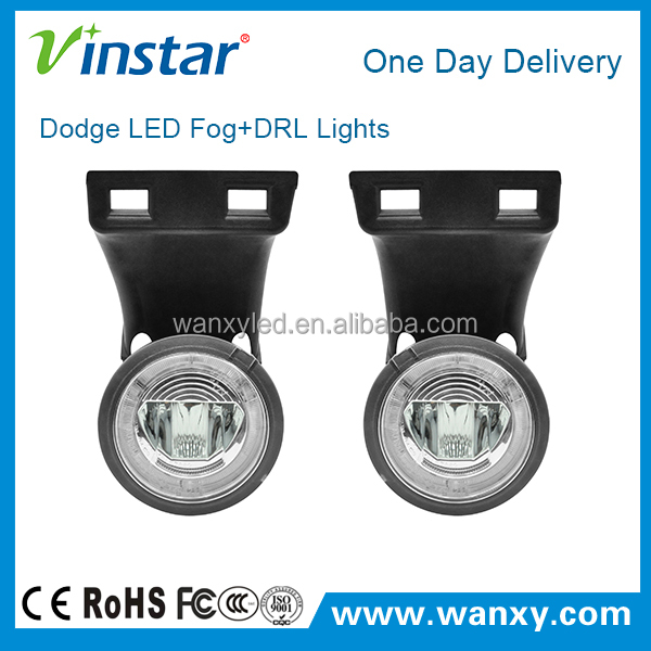 USA universal cars used facelifting led fog lights for RAM 94-01