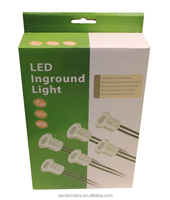 Linkable Low Profile 28mm Round Mini Led Inground Lamp Kits (SC-6*F103A)