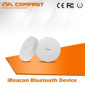 2016 Best Selling COMFAST CF-B1Ibeacon Module with long distance round Beacon bluetooth Ble4.0 mini Ibeacon