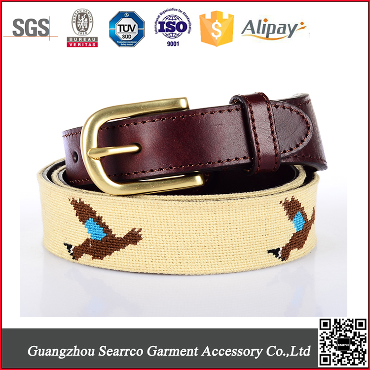 Colorful Pin Buckle Kids Chastity Belt Elastic Leather Belt
