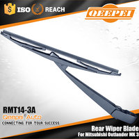 Low price auto car framless rain windscreen wipers most salable wipers back wiper arm&blade for Mitsubishi Outlander MK.3